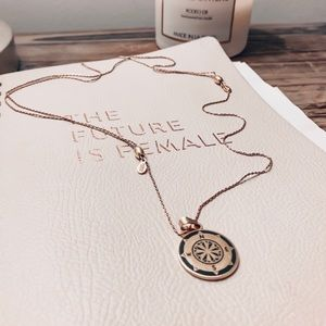 Alex and Ani Compass expandable necklace